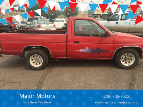 1992 Nissan Truck for sale at Major Motors in Twin Falls ID