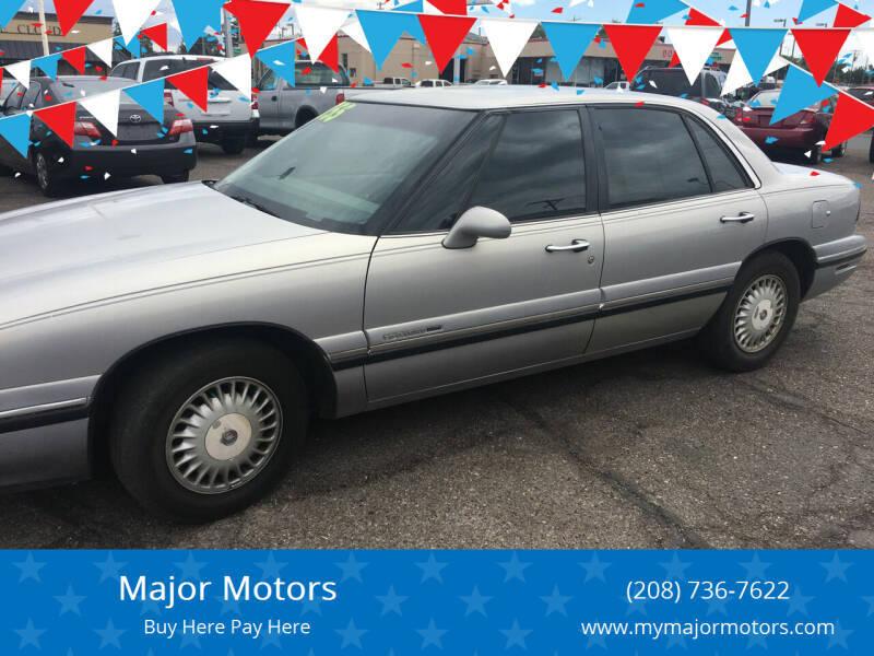 1997 Buick LeSabre for sale at Major Motors in Twin Falls ID