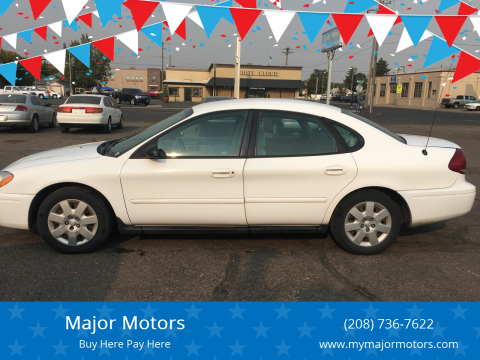 2005 Ford Taurus for sale at Major Motors in Twin Falls ID
