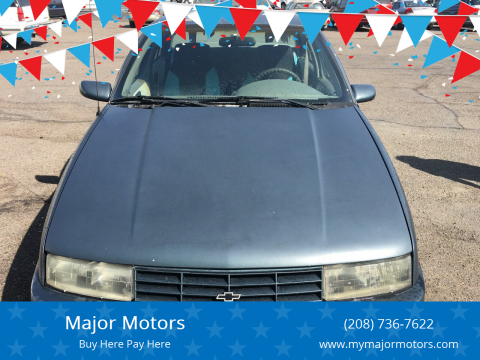 1996 Chevrolet Corsica for sale at Major Motors in Twin Falls ID