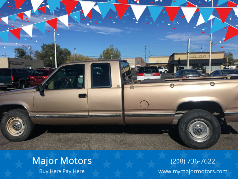 1994 Chevrolet C/K 2500 Series for sale at Major Motors in Twin Falls ID
