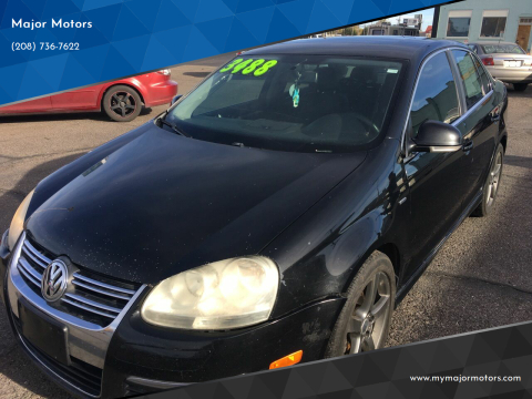 2007 Volkswagen Jetta for sale at Major Motors in Twin Falls ID