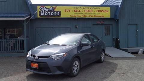 2014 Toyota Corolla for sale in Wasilla, AK