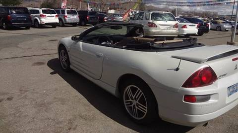 2002 Mitsubishi Eclipse Spyder for sale in Carson City, NV