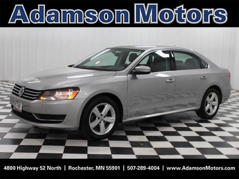 Used volkswagen for sale in rochester mn for Adamson motors used cars