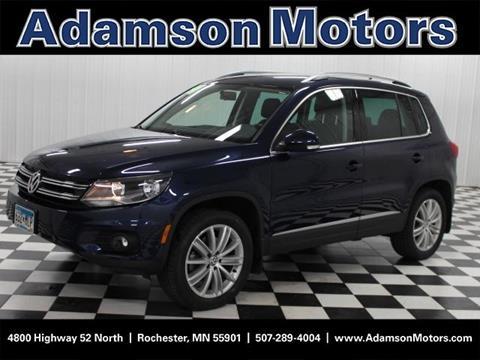 2014 Volkswagen Tiguan for sale in Rochester MN