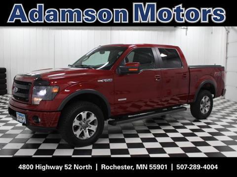 Ford trucks for sale in rochester mn for Adamson motors rochester mn