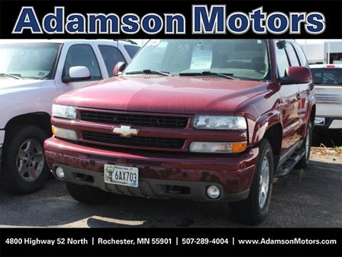 2005 Chevrolet Tahoe for sale in Rochester MN