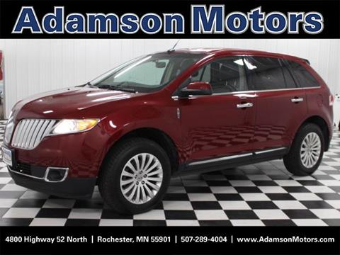 2013 Lincoln MKX for sale in Rochester, MN