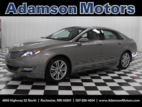 2016 Lincoln MKZ for sale in Rochester MN