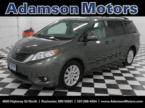 2012 Toyota Sienna for sale in Rochester MN