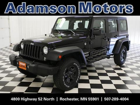 Cars for sale in rochester mn for Adamson motors rochester mn