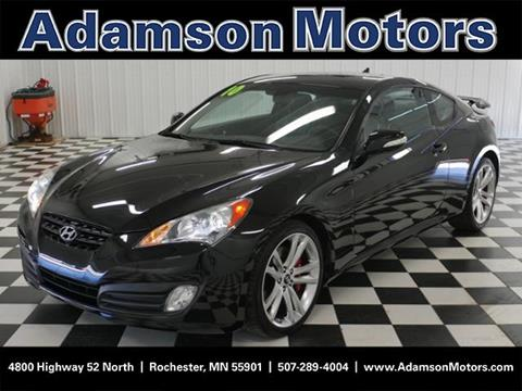 2010 Hyundai Genesis Coupe for sale in Rochester MN
