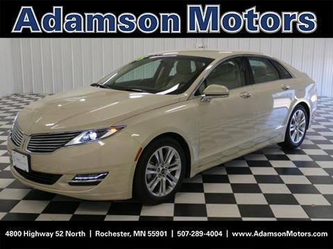 2015 Lincoln MKZ Hybrid for sale in Rochester MN