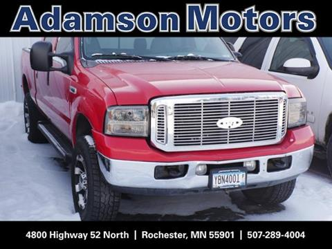 Used ford trucks for sale in rochester mn for Adamson motors used cars