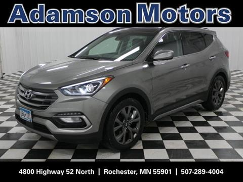 Hyundai santa fe for sale in rochester mn for Adamson motors rochester mn
