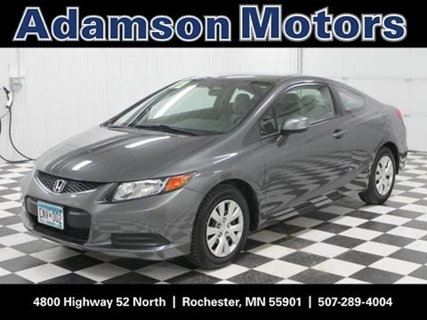 2012 Honda Civic for sale in Rochester, MN