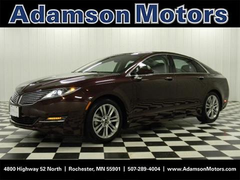 2013 Lincoln MKZ for sale in Rochester MN