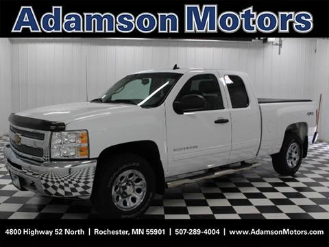 Used chevrolet trucks for sale in rochester mn for Adamson motors used cars