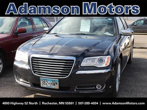 2012 chrysler 300 for sale in minnesota for Adamson motors rochester mn
