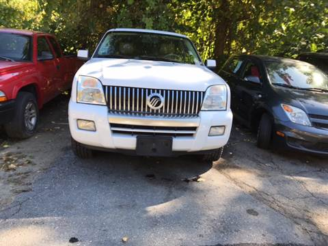 2007 Mercury Mountaineer for sale in Fitchburg, MA
