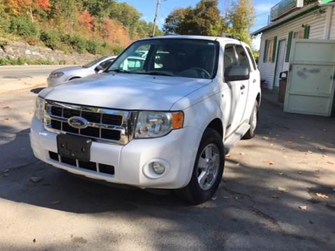 2008 Ford Escape for sale in Fitchburg, MA