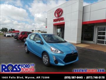 2016 Toyota Prius c for sale in Wynne, AR