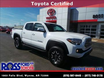 2016 Toyota Tacoma for sale in Wynne, AR