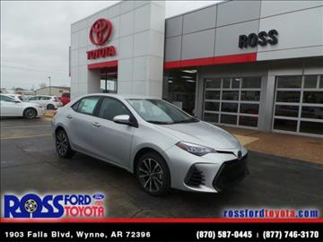 2017 Toyota Corolla for sale in Wynne, AR