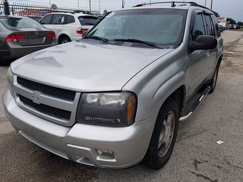2008 Chevrolet TrailBlazer for sale at ACE AUTOMOTIVE in Houston TX