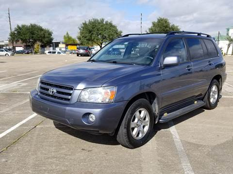 2007 Toyota Highlander for sale at ACE AUTOMOTIVE in Houston TX