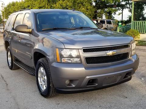 2009 Chevrolet Tahoe for sale at ACE AUTOMOTIVE in Houston TX