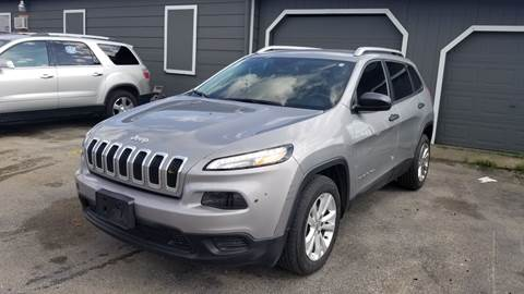 2015 Jeep Cherokee for sale at ACE AUTOMOTIVE in Houston TX