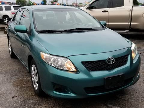 2010 Toyota Corolla for sale at ACE AUTOMOTIVE in Houston TX
