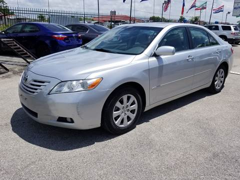 2007 Toyota Camry for sale at ACE AUTOMOTIVE in Houston TX