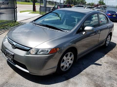 2006 Honda Civic for sale at ACE AUTOMOTIVE in Houston TX
