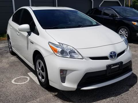 2012 Toyota Prius for sale at ACE AUTOMOTIVE in Houston TX