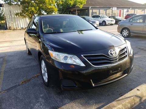 2011 Toyota Camry for sale at ACE AUTOMOTIVE in Houston TX