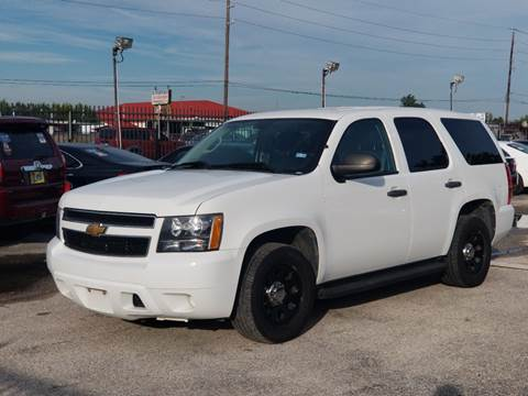 2013 Chevrolet Tahoe for sale at ACE AUTOMOTIVE in Houston TX