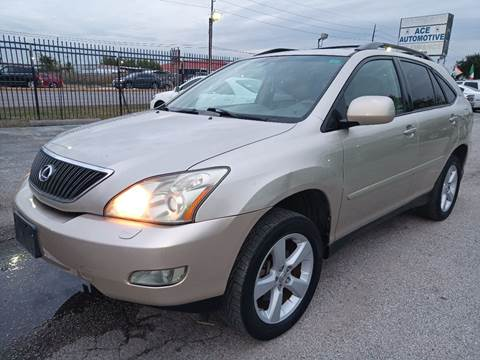 2007 Lexus RX 350 for sale at ACE AUTOMOTIVE in Houston TX