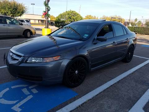 2006 Acura TL for sale at ACE AUTOMOTIVE in Houston TX