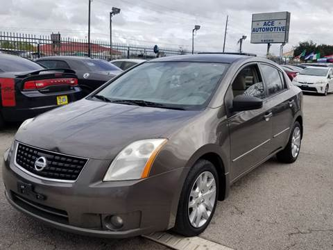 2008 Nissan Sentra for sale at ACE AUTOMOTIVE in Houston TX