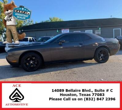 2013 Dodge Challenger for sale at ACE AUTOMOTIVE in Houston TX