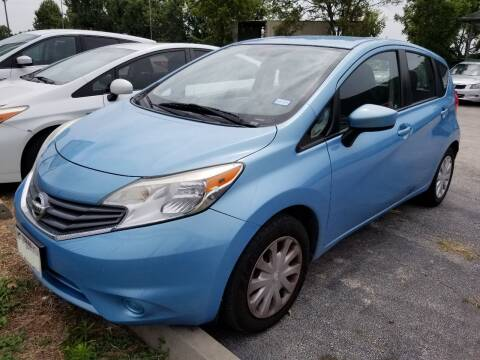 2015 Nissan Versa Note for sale at ACE AUTOMOTIVE in Houston TX