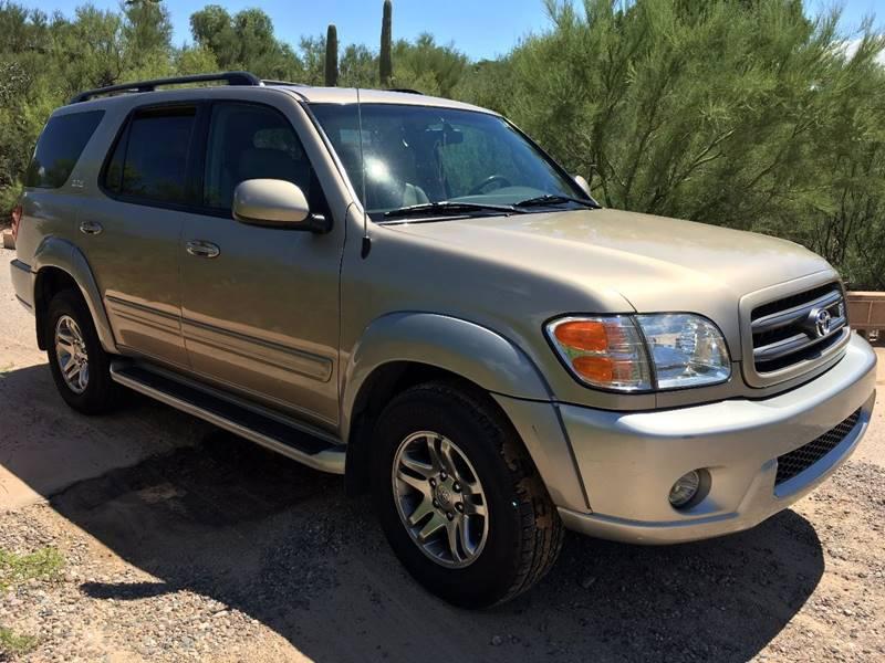 2004 Toyota Sequoia for sale at Auto Executives in Tucson AZ