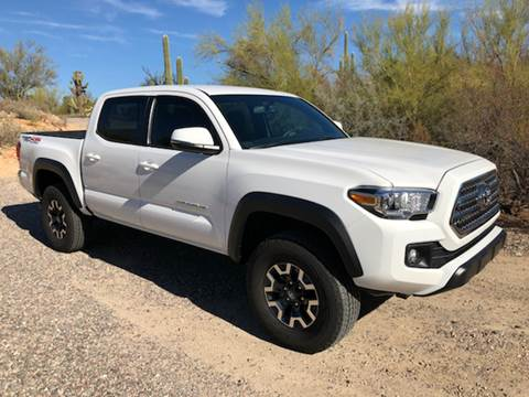 2017 Toyota Tacoma for sale at Auto Executives in Tucson AZ
