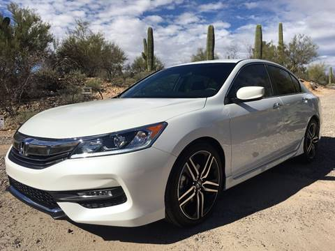 2017 Honda Accord for sale at Auto Executives in Tucson AZ