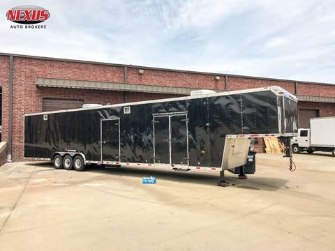 2000 US Cargo 53FT Enclosed Trailer Dual AC