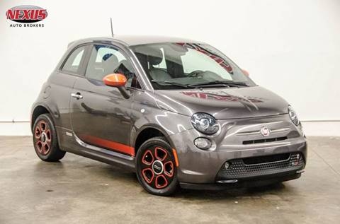 2014 FIAT 500e for sale at Nexus Auto Brokers LLC in Marietta GA