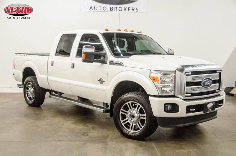 Ford F 250 Super Duty >> 2016 Ford F 250 Super Duty Platinum In Marietta Ga Nexus Auto